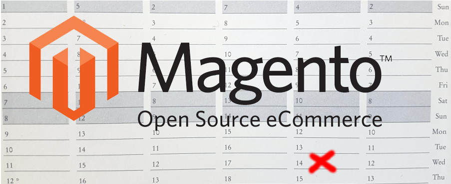 Magento 1.9 End Date